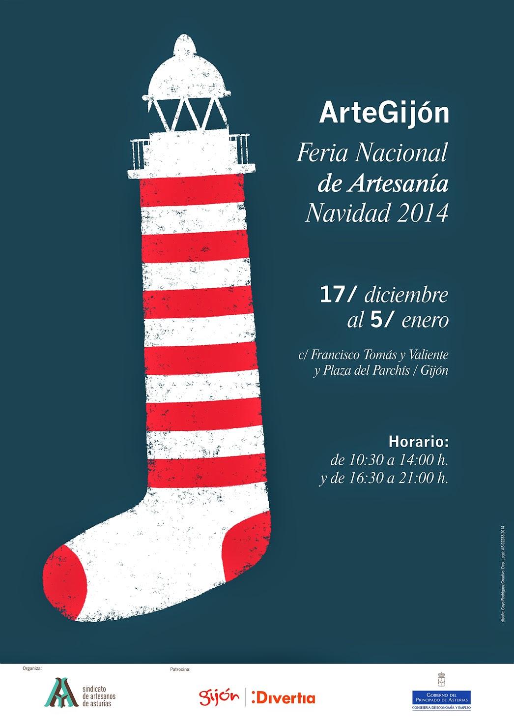 Feria Nacional de Artesanía de Navidad Gijón