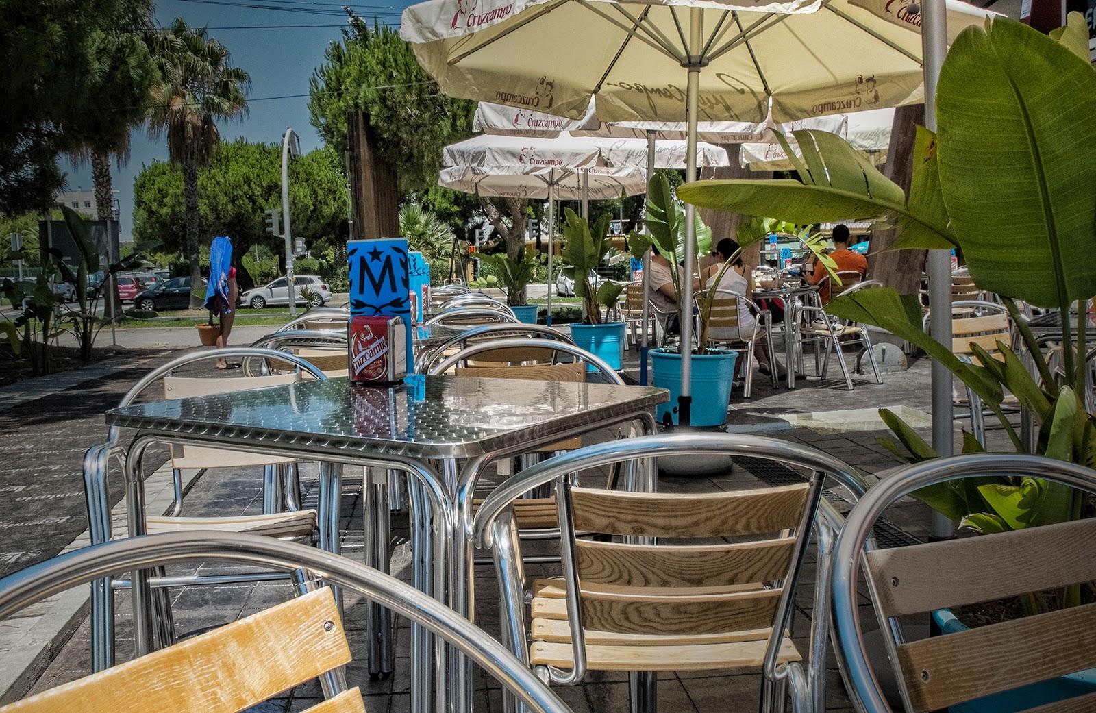 Visitando el Marlin Blue Beach Club (El Portil)