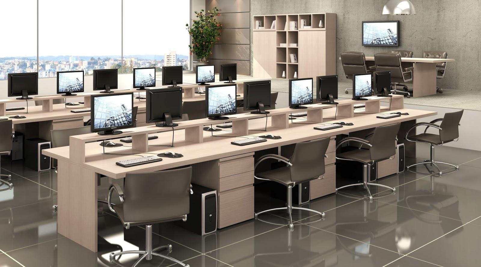 Bella Móveis Móveis e Cadeiras para Escritório: Móveis para  #4E5A2E 1600x890