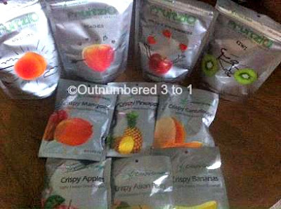 Crispy Green Freeze Dried Fruit