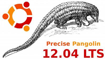 O Precise Pangolin é o mascote da versão 12.04 do Ubuntu