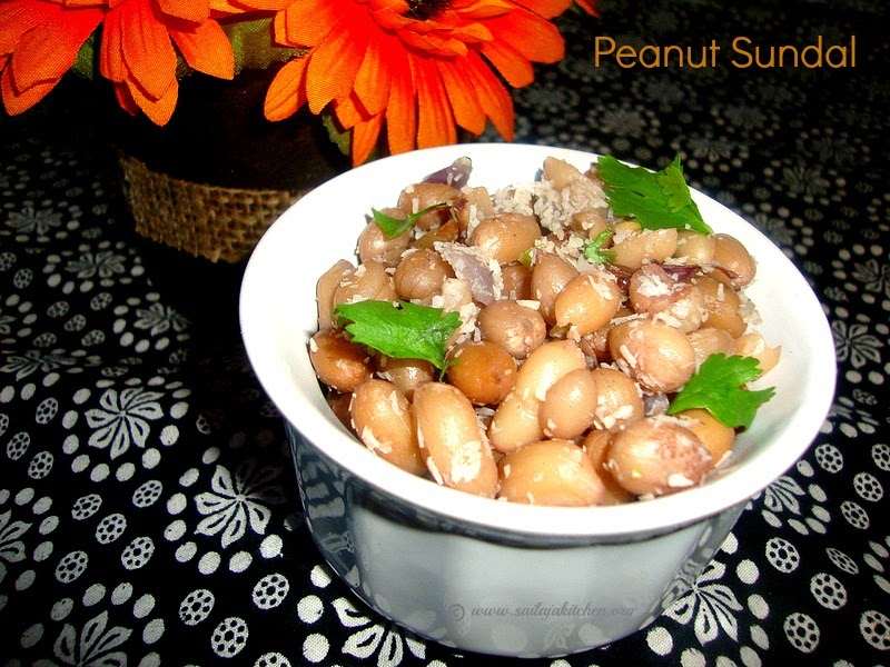images for Peanut Sundal /  Verkadalai Sundal Recipe - Navaratiri Sundal Recipe
