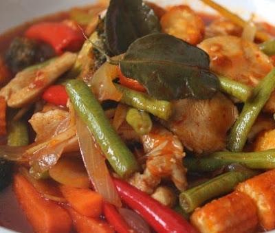 Ayam Masak Paprik Ala Thai