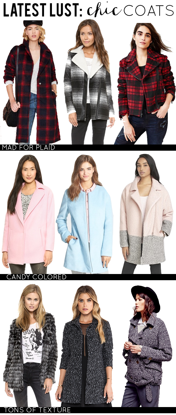 Latest Lust: Chic Coats