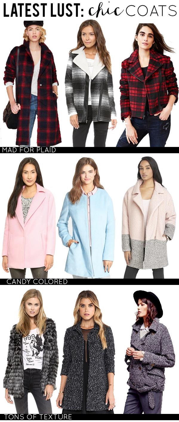 Latest Lust: Chic Coats