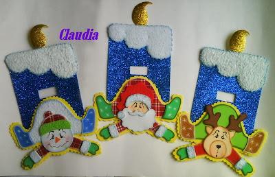 Lindas manualidades adornos navide os - Trabajos manuales navidenos ...