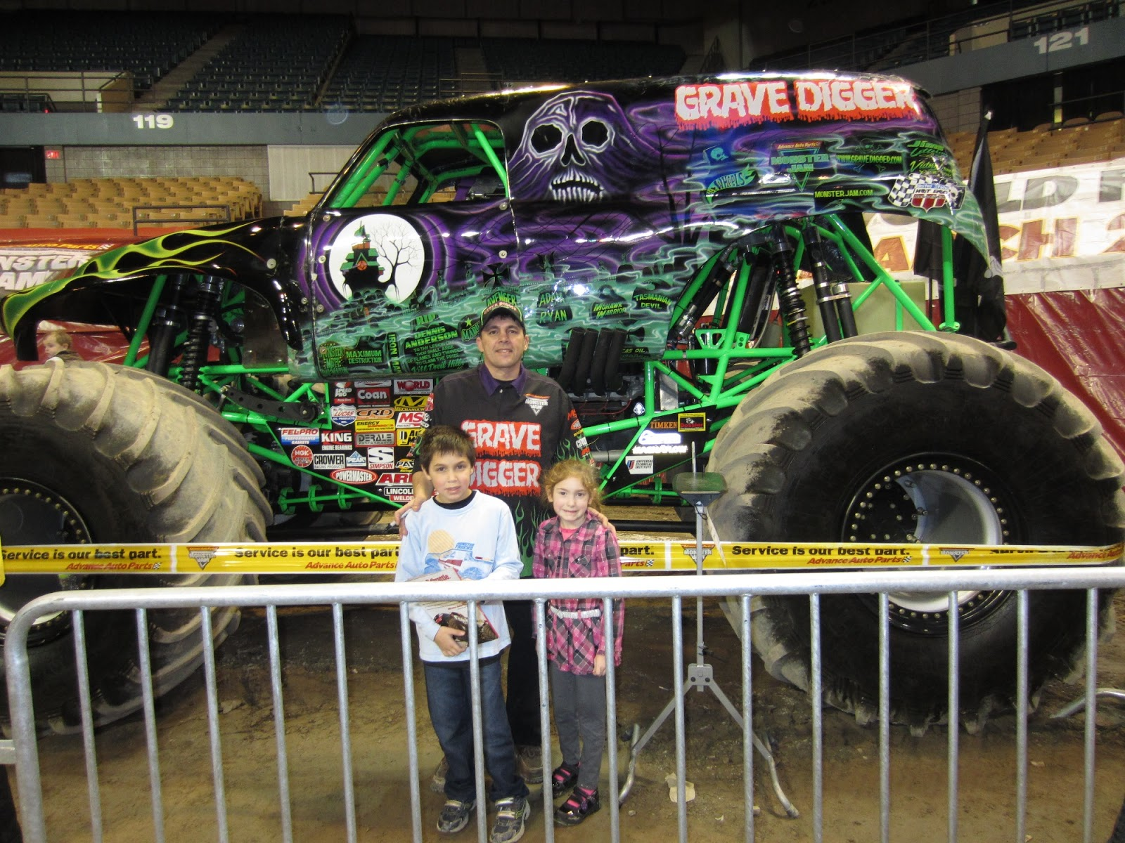 Evan And Laurens Cool Blog Win Tickets To Monster Jam At - Dcu center car show