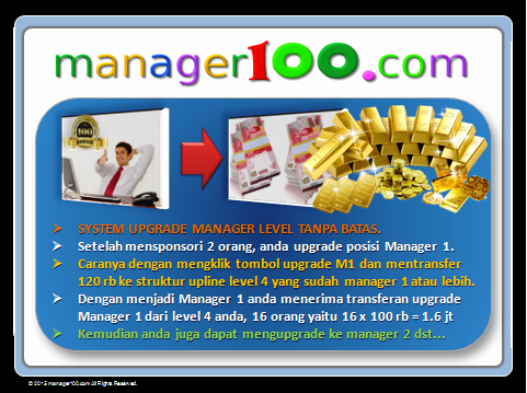 system upgrade manager level tanpa batas