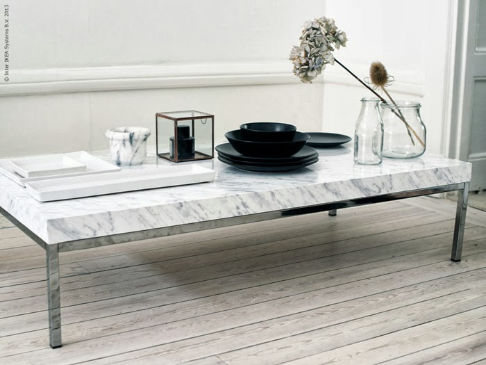 Diy marble coffee table possibly most favourite ikea for Table basse marbre