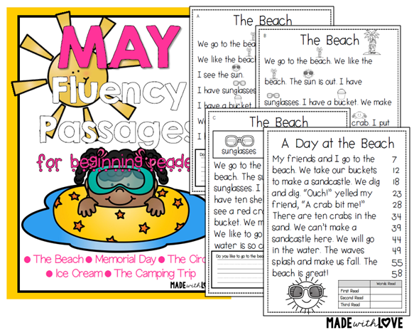 https://www.teacherspayteachers.com/Product/May-Fluency-Passages-Differentiated-1826192