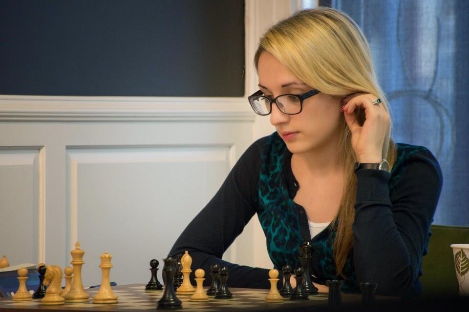 Nazi Paikidze (2333) au championnat d'échecs des USA 2015 - Photo © Lennart Ootes