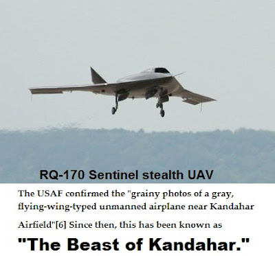 US Stealth Drone