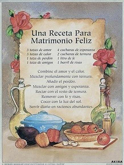Poemas Para Matrimonio Catolico : Mari carmen gª franconetti receta para un matrimonio feliz