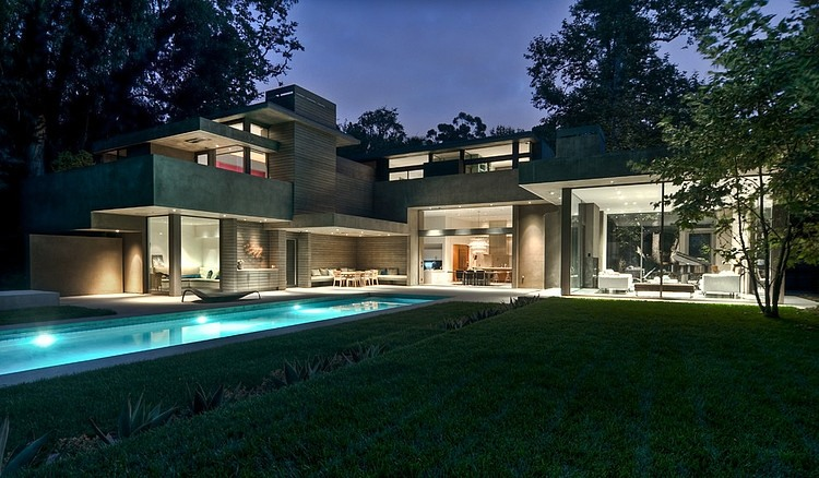 Modern Dream Home In The Forest By Chu Gooding Architects