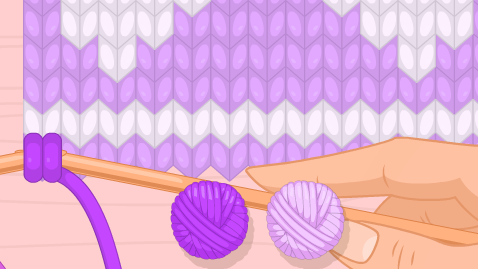 Game đan len, trò chơi bạn gái đan len hay