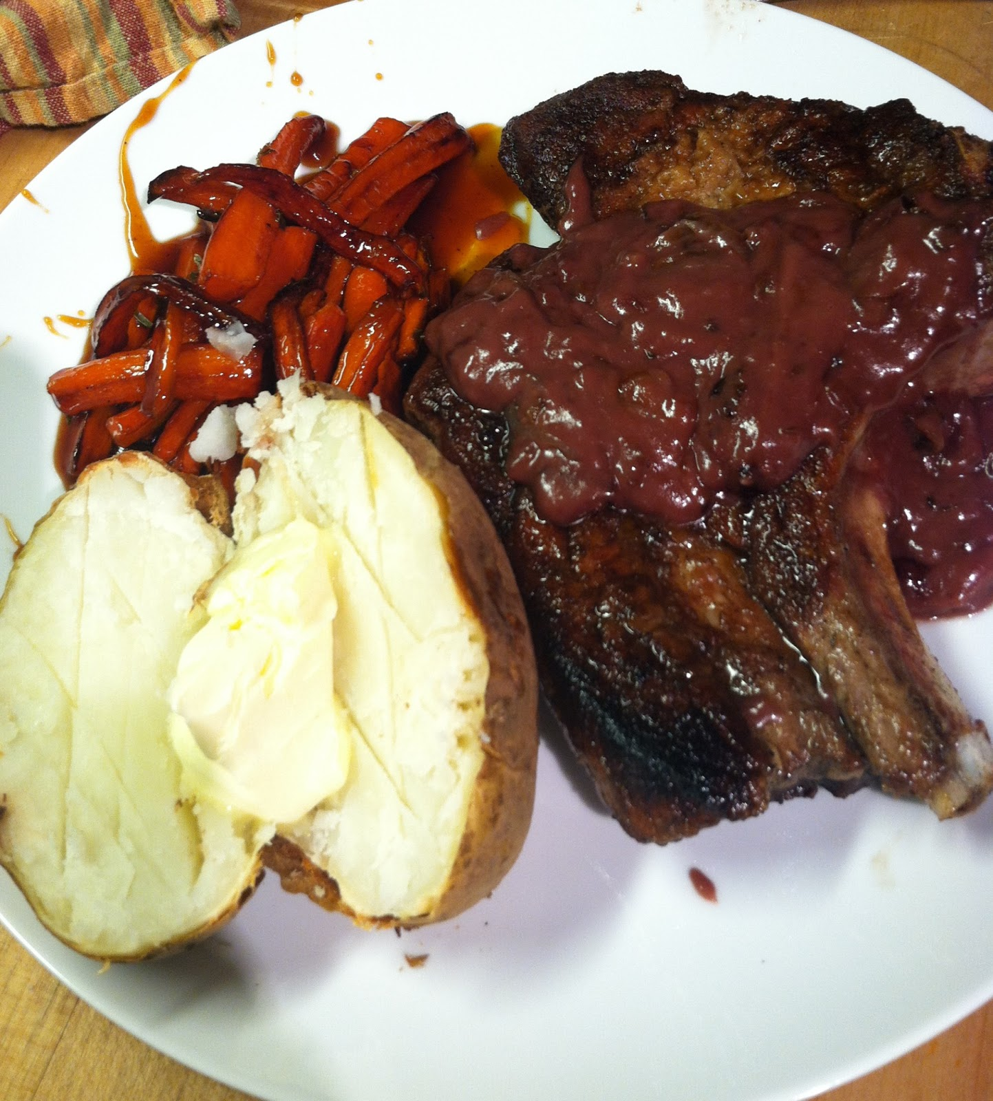 Pork chop recipes with red wine