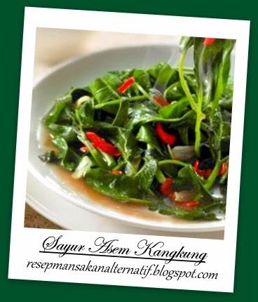 Resep Masakan Sayur Asem Kangkung Enak Pedas