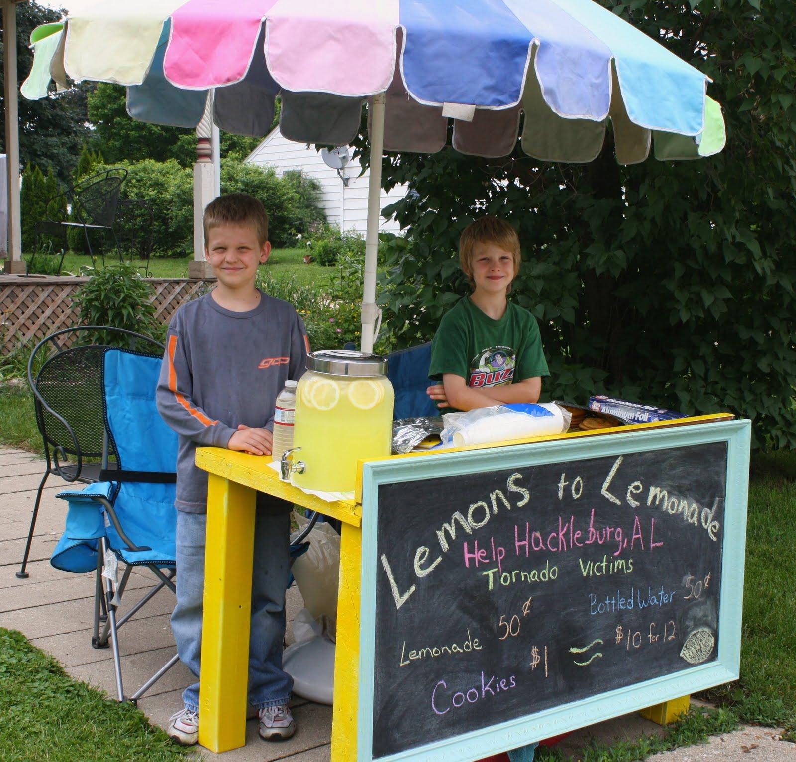 surviving munchkin land: Best Lemonade Stand EVER!
