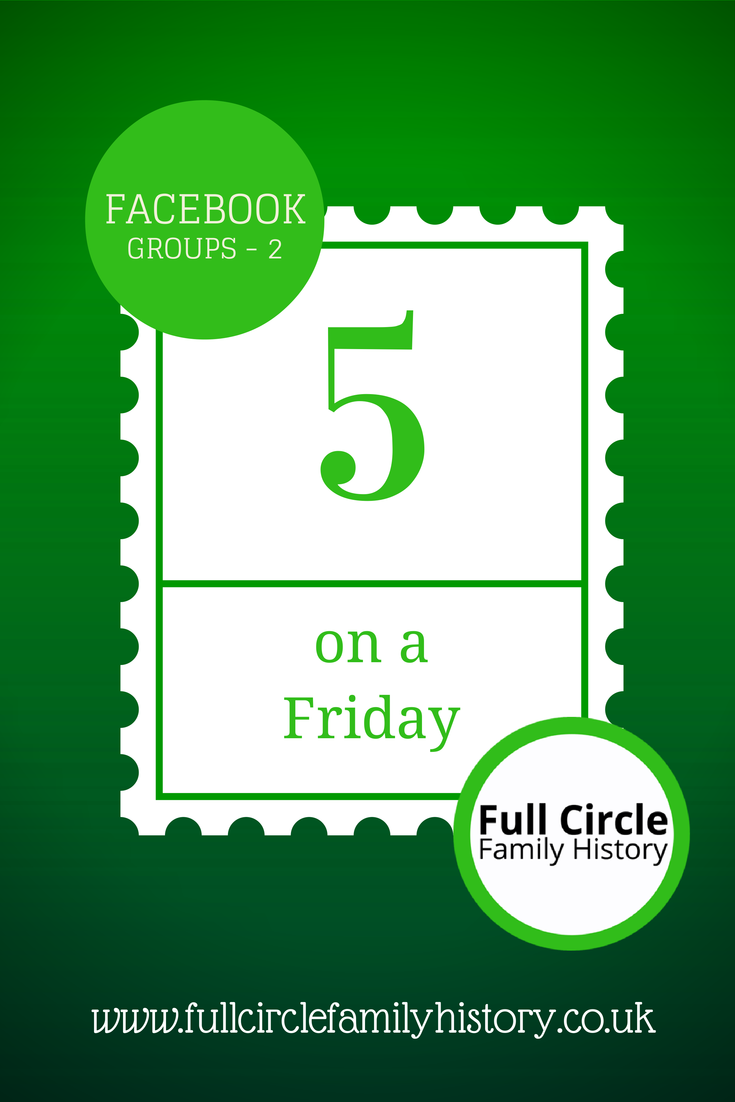 FullCircleFamilyHistory - 5 on a Friday