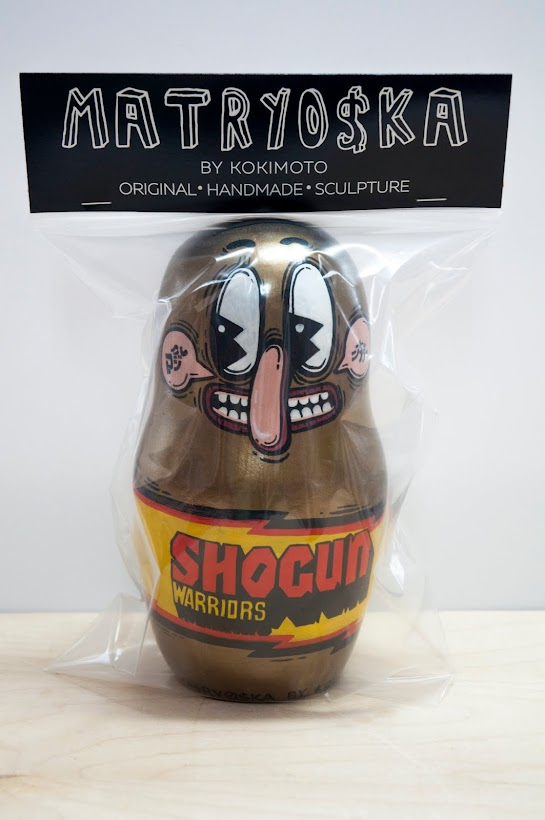 Shogun Warriors MATRYO$KA by Kokimoto 2016