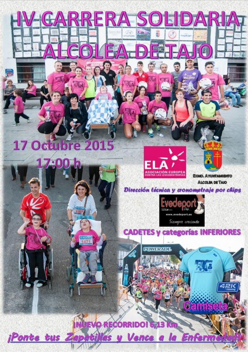 IV Carrera Solidaria de Alcolea de Tajo