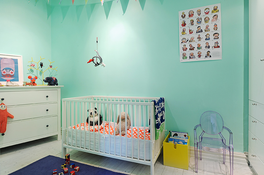 Blog wn trzarski design nowoczesne projekty wn trz - Pintura para habitaciones infantiles ...