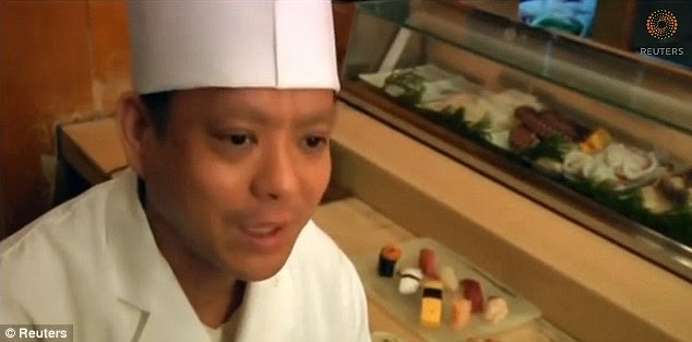 Sushi Ini Terbuat dari Sebutir Beras