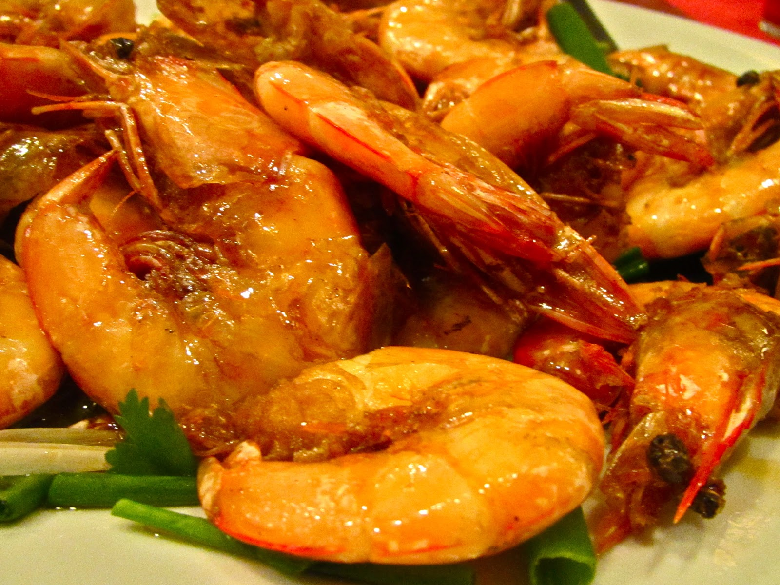 jumbo shrimp prawns Malaysian food