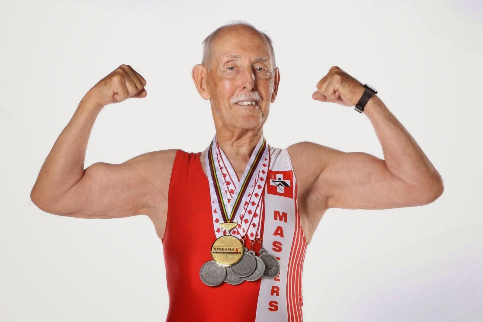 Чарльз Югстер - 95-летний рекордсмен спорта