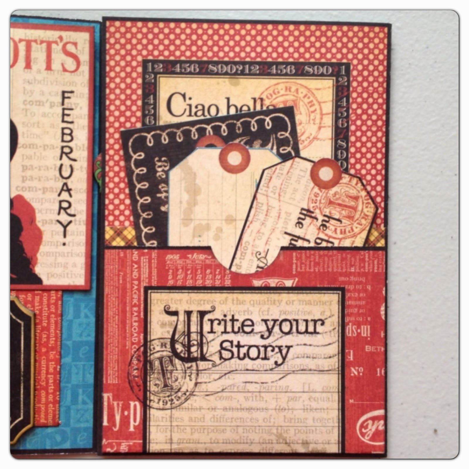 paperiah graphic 45 typography card tutorial