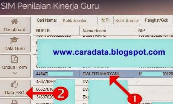 Data PKG