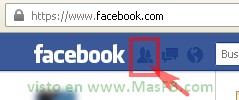 Solicitudes, Facebook, 2013