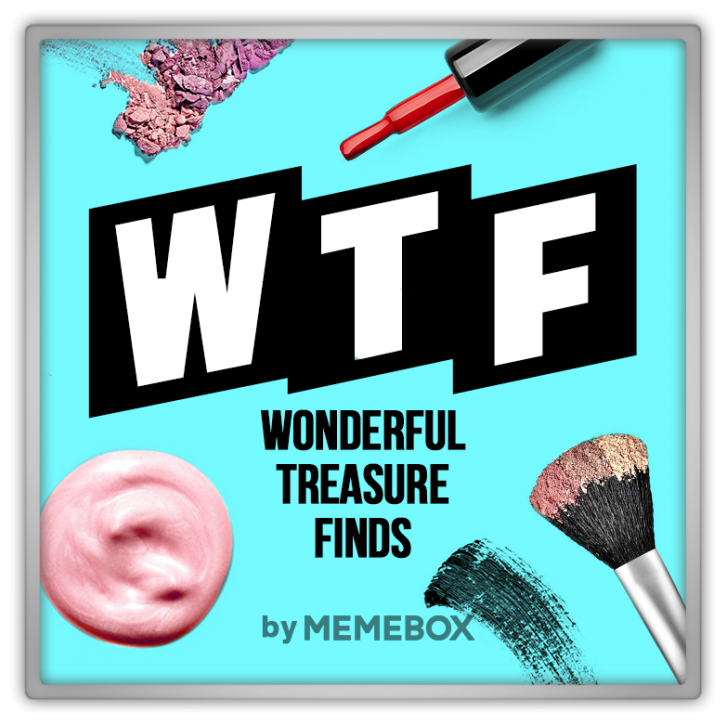Memebox Special #52 WTF Wonderful Treasure Finds 미미박스 Commercial