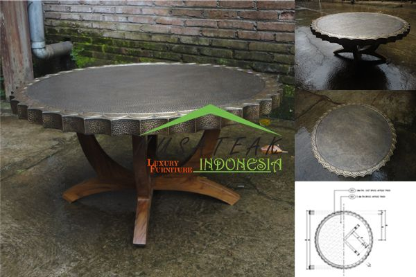 Bubon French Antique Coffee Table