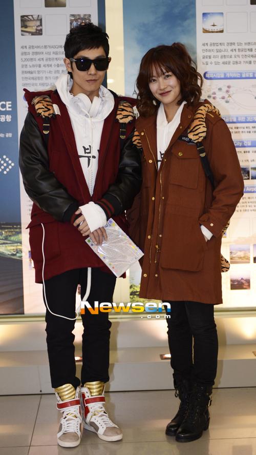 Lee Joon MBLAQ & Oh Yeon Seo
