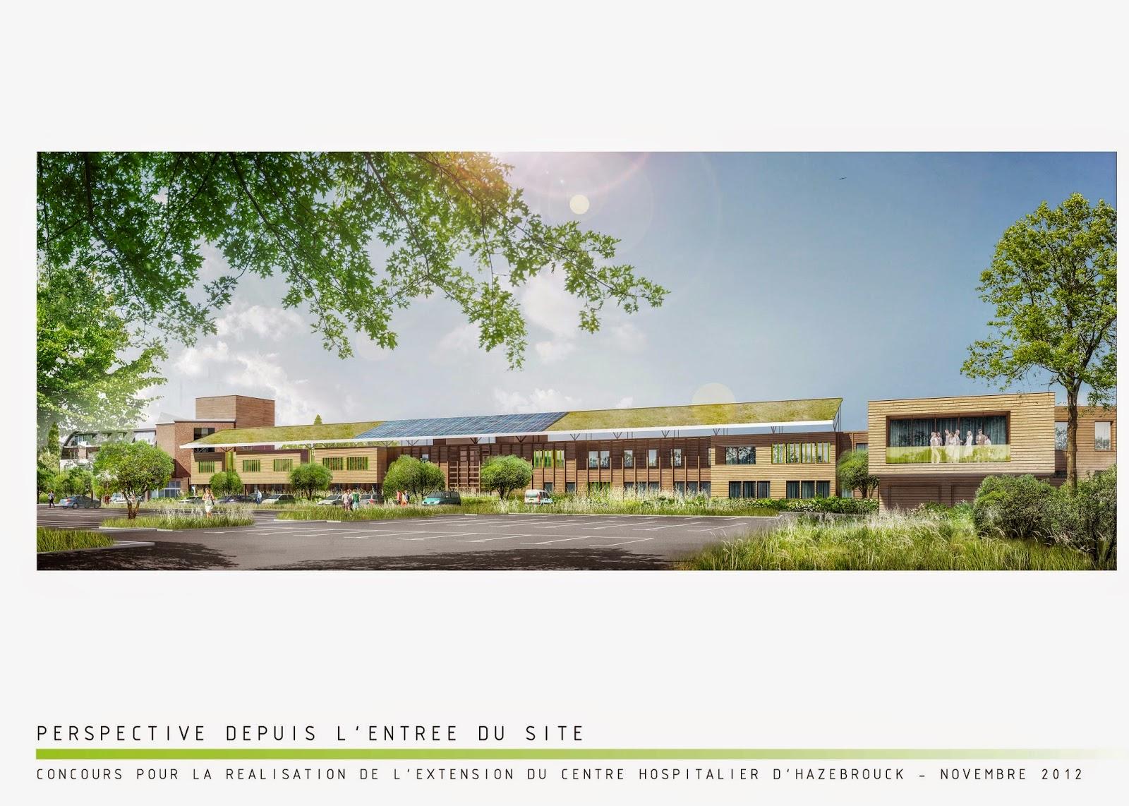 paindavoine parmentier architectes: concours extension du centre