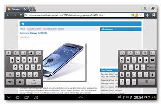 Samsung Galaxy Note 10.1 - Keyborad  review