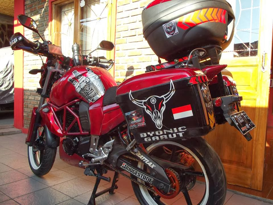 Top modifikasi motor byson touring