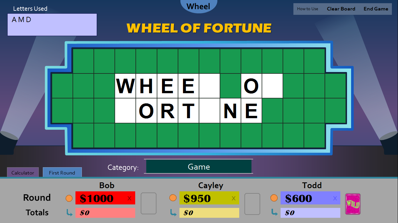 Wheel Of Fortune Powerpoint Template Mandegarfo