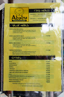 Ababu Persian Kitchen Menu 1