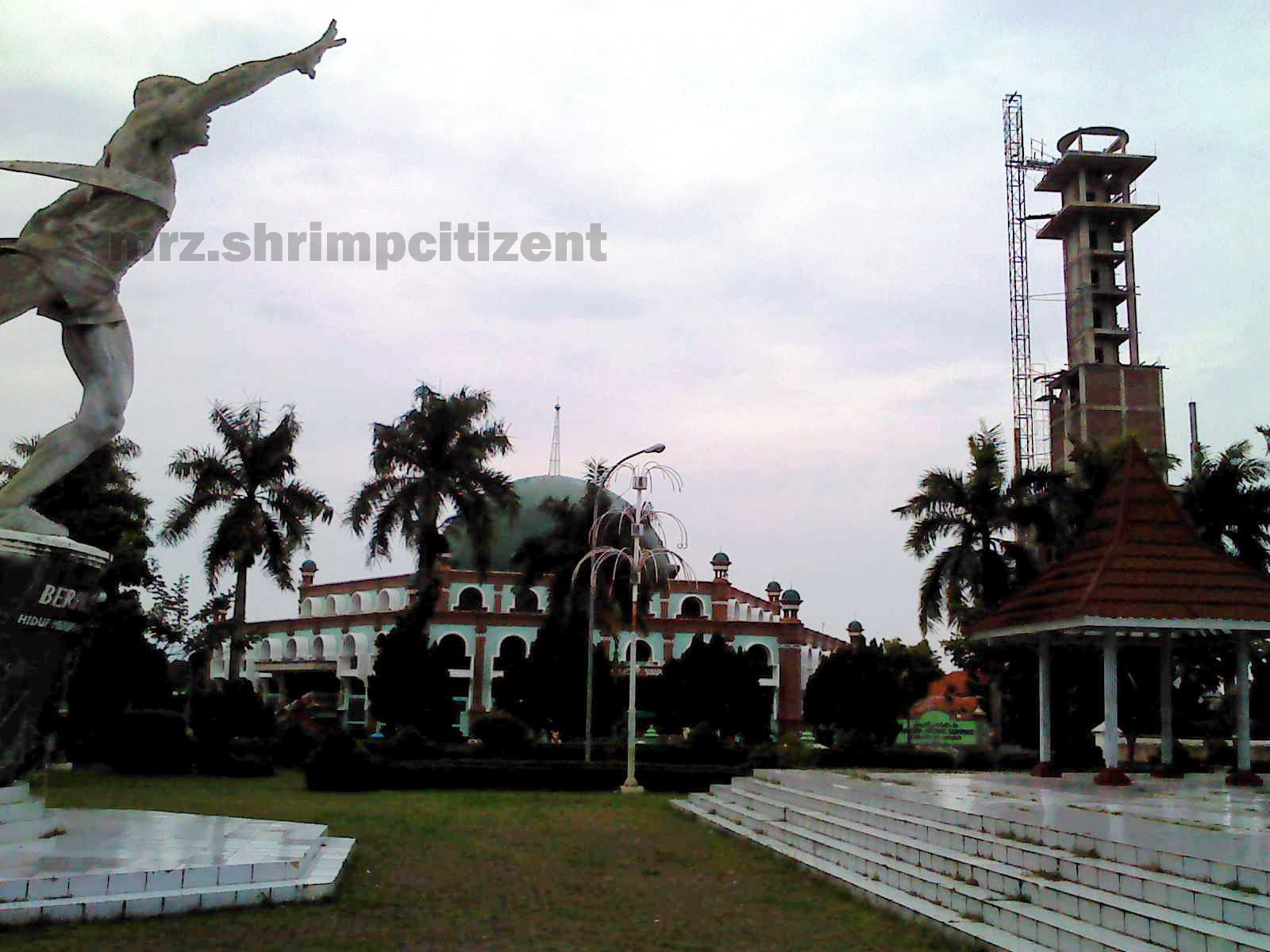 Pembangunan Menara Masjid Agung Sumber, Kab. Cirebon 3