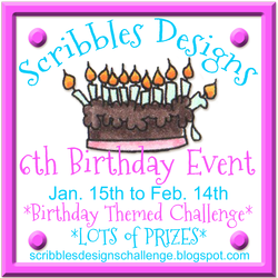 Scribbles Designs 6th Birthday Event!