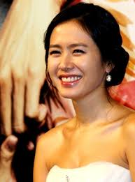 What is the height of Son Ye-jin?