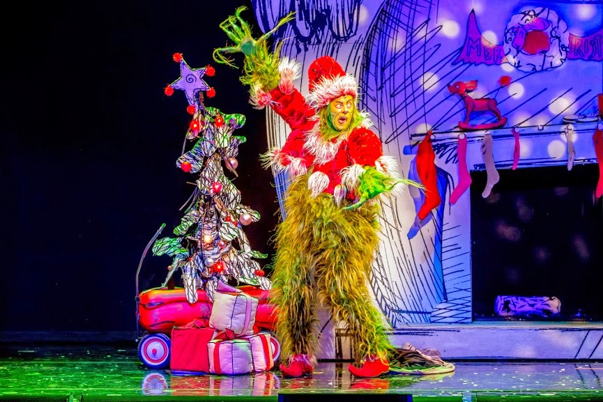 shuler hensley as the grinch in the 2014 equity touring company of dr seuss how the grinch stole christmas the musical running nov - How The Grinch Stole Christmas 2014