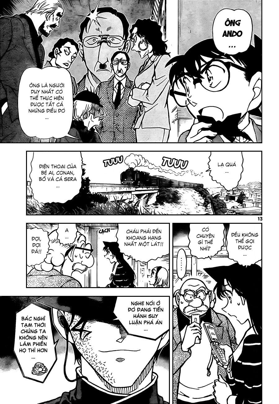 Thám Tử Lừng Danh Conan - Chapter 822 - Pic 14