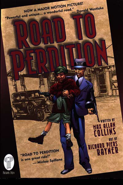 road to perdition essay In the road to perdition, the house lights that peak from behind the closed curtains, from the big windows shine against the long, dark, narrow pathway, creating a shadow into that area.