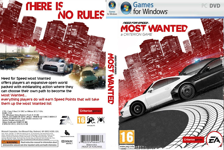 Need for speed most wanted para pc 2012 tu portal Nfs most wanted para pc