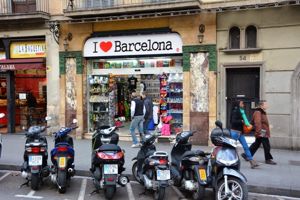 Barcelona Shopping I love Barcelona
