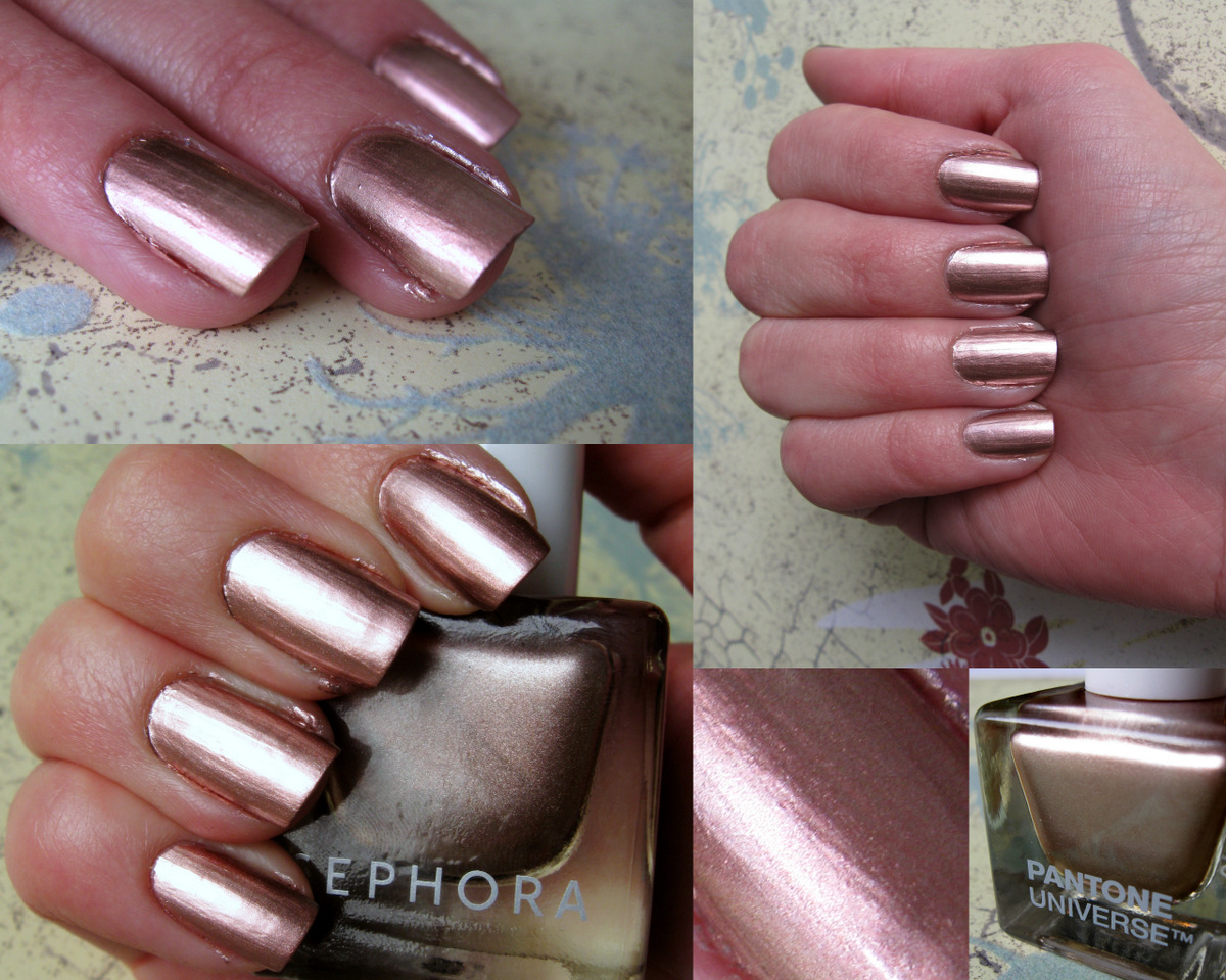 Mirror Metallic Nail Art