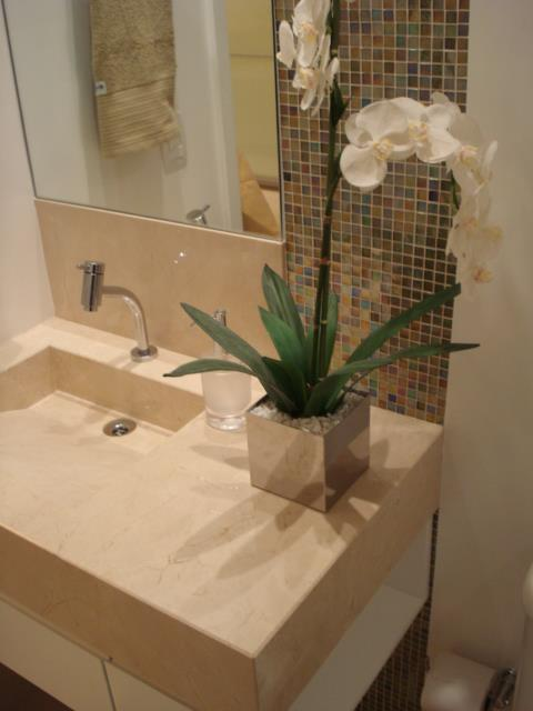 Botas Salto Agulha Decoração  Sugestão de Reforma para Banheiro -> Sugestao Banheiro Pequeno